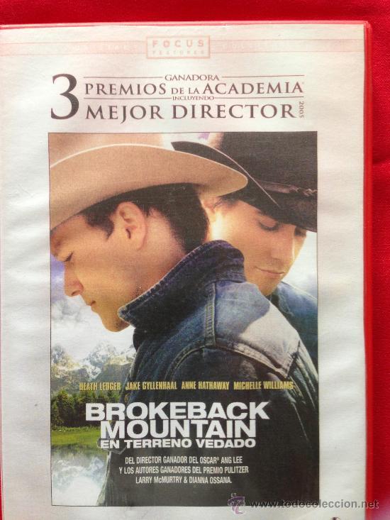 DVD PELICULA BROKEBACK MOUNTAIN (Cine - Películas - DVD)