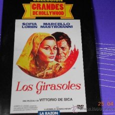 Cine: CINE DVD ROMANTICA: LOS GIRASOLES CON SOFIA LOREN COL. GRANDES DE HOLLYWOOD MO. Lote 37090265