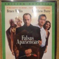 Cine: FALSAS APARIENCIAS. BRUCE WILLIS - MATTHEW PERRY. DVD PRECINTADO.. Lote 37020283