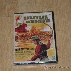 Cine: CARAVANA DE MUJERES DVD ROBERT TAYLOR NUEVA PRECINTADA. Lote 134351114