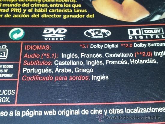 Cine: OCEANS OCEAN'S ELEVEN HAGAN JUEGO CLOONEY DAMON GARCIA PITT ROBERTS DVD CAJA CARTON COMO NUEVO BA2 - Foto 2 - 37322667