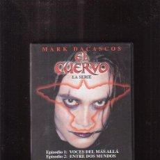Cine: EL CUERVO - EPISODIO 1 Y 2 , MARK DACASCOS - DVD. Lote 37338834