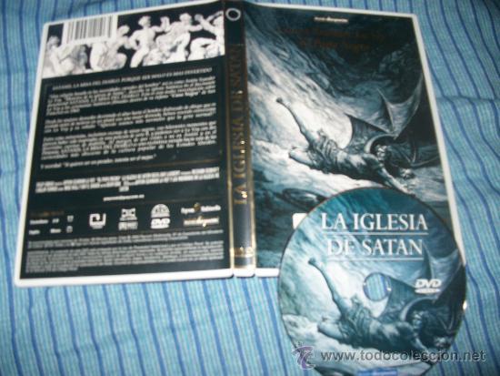 DVD - LA IGLESIA DE SATAN - ANTON SZANDOR LA VEY - EL PAPA NEGRO - MUNDO DESCONOCIDO (Cine - Películas - DVD)