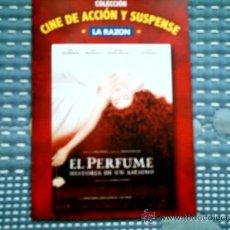 Cine: DVD EL PERFUME, HISTORIA DE UN ASESINO, DE TOM TYKWER (SIN USAR). Lote 37374230