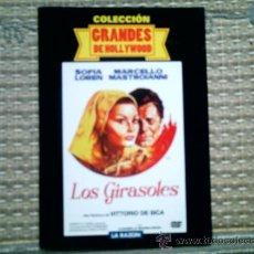 Cine: DVD LOS GIRASOLES, DE VITTORIO DE SICA, CON SOFIA LOREN Y MARCELO MASTROIANNI (SIN USAR). Lote 37404912