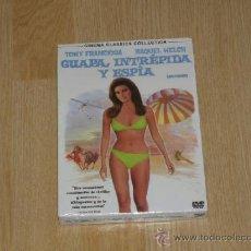Cine: GUAPA INTREPIDA Y ESPIA DVD RAQUEL WELCH NUEVA PRECINTADA. Lote 235185360