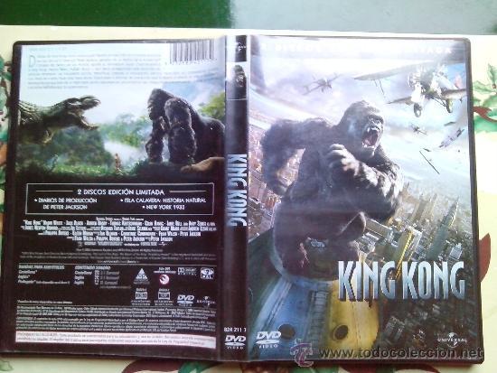 KING KONG - EDICION ESPECIAL LIMITADA 2 DVD (Cine - Películas - DVD)