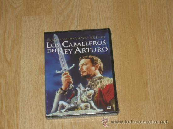 LOS CABALLEROS DEL REY ARTURO DVD ROBERT TAYLOR AVA GARDNER NUEVA PRECINTADA (Cine - Películas - DVD)