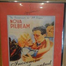 Cine: INOCENCIA Y JUVENTUD. DE ALFRED HITCHCOCK. DVD PRECINTADO.. Lote 37925451
