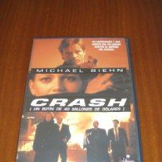 Cine: DVD - BREACH OF TRUST - CRASH - 1996 - MICHAEL BIEHN. Lote 37391480