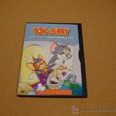 Cine: DVD TOM Y JERRY (UNA PERSECUCIÓN DE BIGOTES) (FORMATO SNAPCASE). Lote 38074069