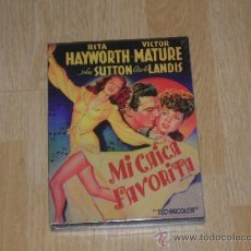 Cinema: MI CHICA FAVORITA DVD VICTOR MATURE RITA HAYWORTH NUEVA PRECINTADA. Lote 261161870