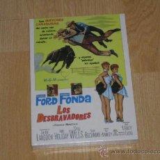 Cine: LOS DESBRAVADORES DVD HENRY FONDA GLENN FORD NUEVA PRECINTADA. Lote 176135432