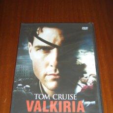 Cine: VALKIRIA - DVD - BRYAN SINGER - TOM CRUISE - KENNETH BRANAGH. Lote 69876219
