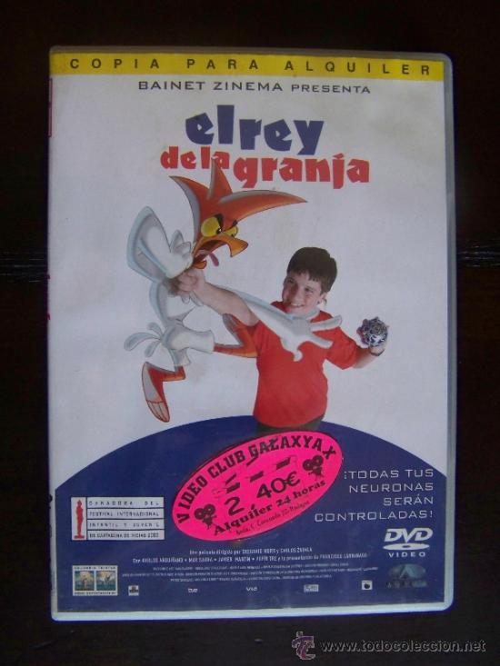 Dvd El Rey De La Granja Edicion De Alquiler Comprar Películas En Dvd En Todocoleccion 38333430