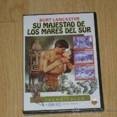 Cine: SU MAJESTAD DE LOS MARES DEL SUR DVD BURT LANCASTER NUEVA PRECINTADA. Lote 296065923