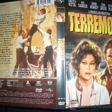 Cine: TERREMOTO CHARLTON HESTON AVA GARDNER DVD ORIGINAL EN SENSURROUND. Lote 38342386