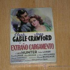 Cine: EXTRAÑO CARGAMENTO DVD CLARK GABLE JOAN CRAWFORD NUEVA PRECINTADA. Lote 98727372