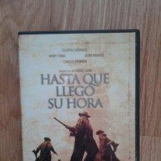 Cine: HASTA QUE LLEGÓ SU HORA - DIR. SERGIO LEONE - CON HENRY FONDA CLAUDIA CARDINALE CHARLES BRONSON. Lote 38408391
