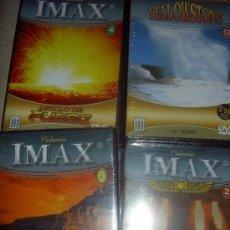 Cine: COLECCION IMAX EL MUNDO. PRECINTADOS COLECCION COMPLETA. Lote 38434469