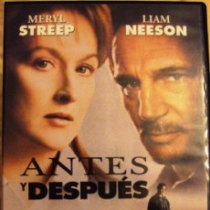 Cine: DVD PELICULA ANTES Y DESPUES. Lote 38495089
