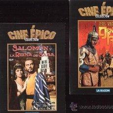 DVD CINE EPICO, LOTE 10 DVD - VER TITULOS EN FOTOS