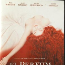 Cine: EL PERFUM- BEN WHISHAW- ALAN RICKMAN-RACHEL HURD-WOOD - DUSTIN HOFFMAN. Lote 38749326