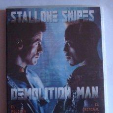 Cine: DEMOLITION MAN -STALLONE -SNIPES. Lote 38835563