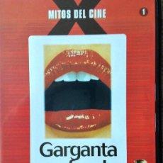 Cine: GARGANTA PROFUNDA- (DEEP THROAT)- LA CUMBRE DEL CINE ERÓTICO- FILM DE CULTO. Lote 183895836