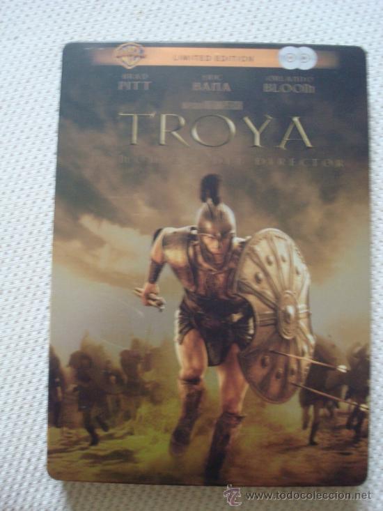 TROYA. EL MONTAJE DEL DIRECTOR. DVD EDICIÓN METÁLICA (Cine - Películas - DVD)