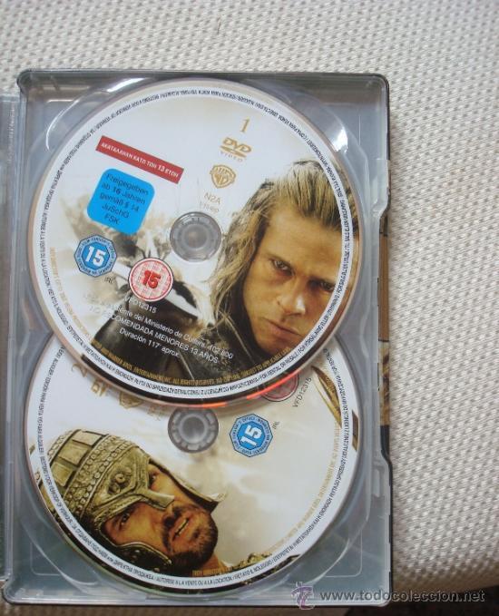 Cine: TROYA. EL MONTAJE DEL DIRECTOR. DVD EDICIÓN METÁLICA - Foto 3 - 39241227
