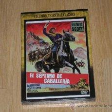 Cine: EL SEPTIMO DE CABALLERIA EDICION ESPECIAL DVD RANDOLPH SCOTT NUEVA PRECINTADA. Lote 104373054