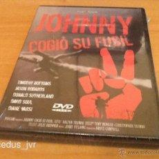 Cine: JOHNNY COGIÓ SU FUSIL - INSPIRACIÓN DE ONE DE METALLICA - PELÍCULA EN DVD NUEVA Y PRECINTADA. Lote 39483904