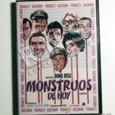 Cine: MONSTRUOS DE HOY - 20 CORTOS DVD PELÍCULA VITTORIO GASSMAN UGO TOGNAZZI CORTO DINO RISI OBRA DE ARTE. Lote 39305104
