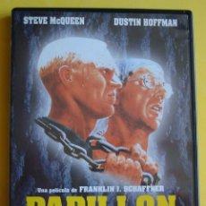 Cine: DVD PAPILLON STEVE MCQUEEN - DUSTIN HOFFMAN. Lote 39355663