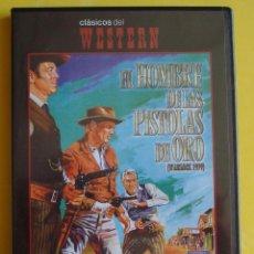 Cine: DVD EL HOMBRE DE LAS PISTOLAS DE ORO HENRY FONDA - ANTHONY QUINN. Lote 39376020