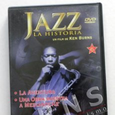 Cine: JAZZ LA HISTORIA UN FILM DE KEN BURNS - EPISODIO Nº 11 Y 12 MÚSICA - LA AVENTURA - DVD DOCUMENTAL. Lote 39377620