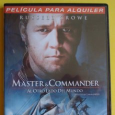 Cine: MASTER AND COMMANDER RUSSELL CROWE. Lote 39391038