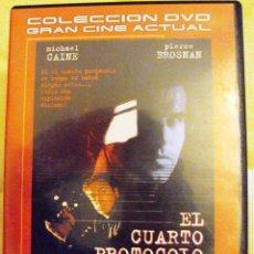 Cine: DVD PELICULA EL CUARTO PROTOCOLO. Lote 208906018