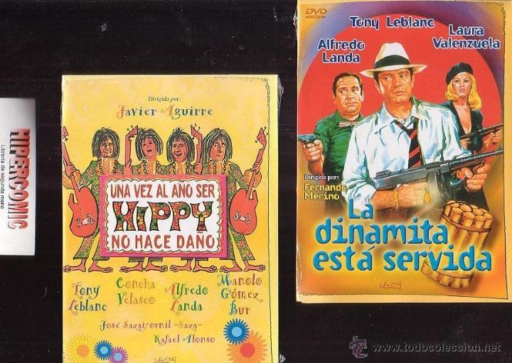 TONY LEBLANC , LOTE 4 DVD - VER TITULOS EN FOTOS , CINE COMEDIA ESPAÑOLA (Cine - Películas - DVD)