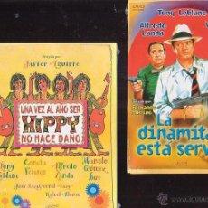 TONY LEBLANC , LOTE 4 DVD - VER TITULOS EN FOTOS , CINE COMEDIA ESPAÑOLA