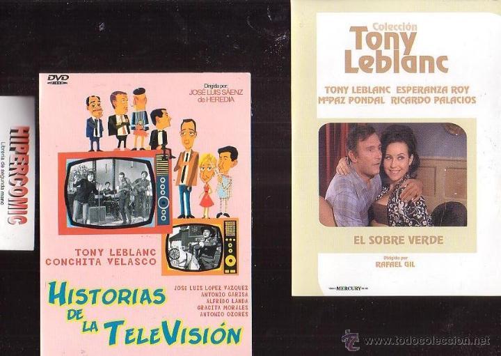 Cine: TONY LEBLANC , LOTE 4 DVD - VER TITULOS EN FOTOS , CINE COMEDIA ESPAÑOLA - Foto 2 - 39526389