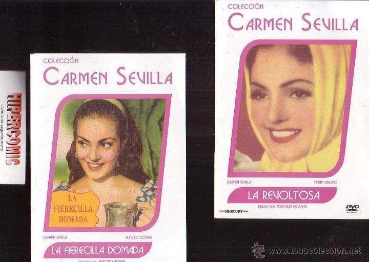 3 DVD CARMEN SEVILLA - CINE COMEDIA ESPAÑOLA - VER TITULOS EN FOTOS (Cine - Películas - DVD)