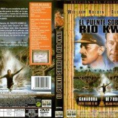 Cine: EL PUENTE SOBRE EL RIO KWAY (ED. COLECCIONISTA - 2 DVD). Lote 39679326