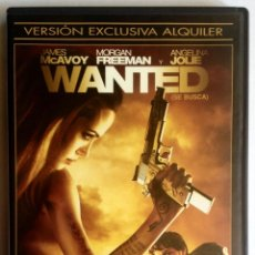 Cine: PELICULA DVD - WANTED. Lote 39704989