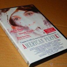 Cine: AMERICAN PERFEKT ROBERT FOSTER DVD COMO NUEVO DRAMA CRIMEN THRILLER E. Lote 194946125