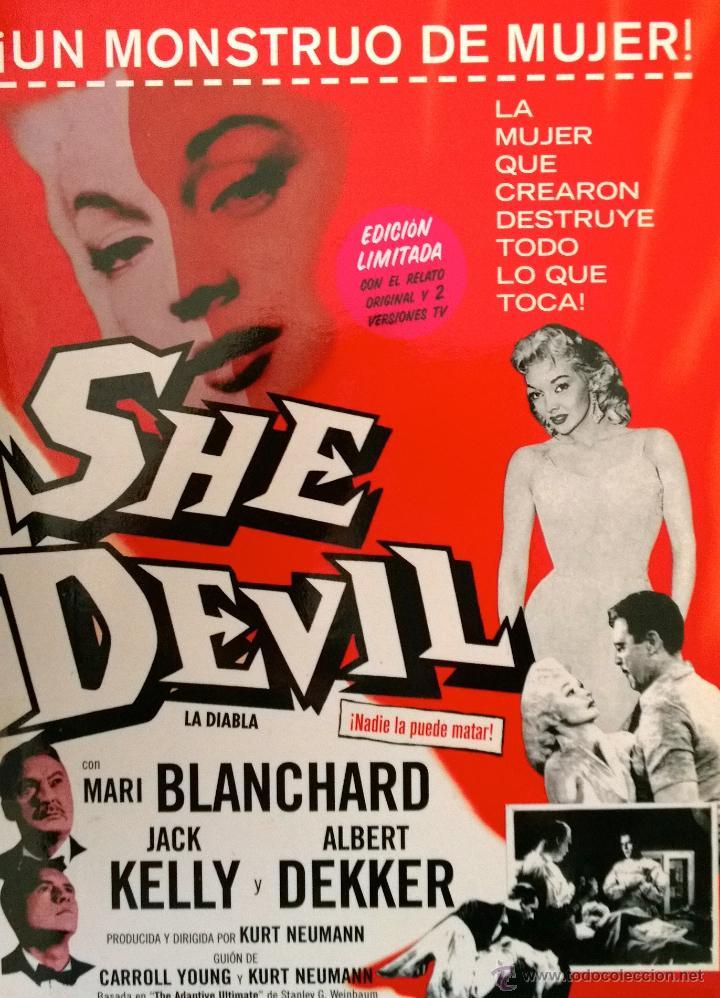 SHE DEVIL (LA DIABLA) FILM DE CULTO. NUNCA ESTRENADO COMERCIALMENTE EN ESPAÑA-EDICIÓN LIMITADA (Cine - Películas - DVD)