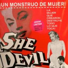 Cine: SHE DEVIL (LA DIABLA) FILM DE CULTO. NUNCA ESTRENADO COMERCIALMENTE EN ESPAÑA-EDICIÓN LIMITADA. Lote 39822105