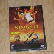 Cine: SIMBAD Y LA PRINCESA DVD NUEVA PRECINTADA. Lote 184053717