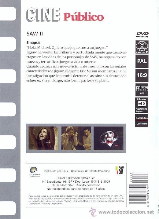 Cine: Saw II - Foto 2 - 39895351